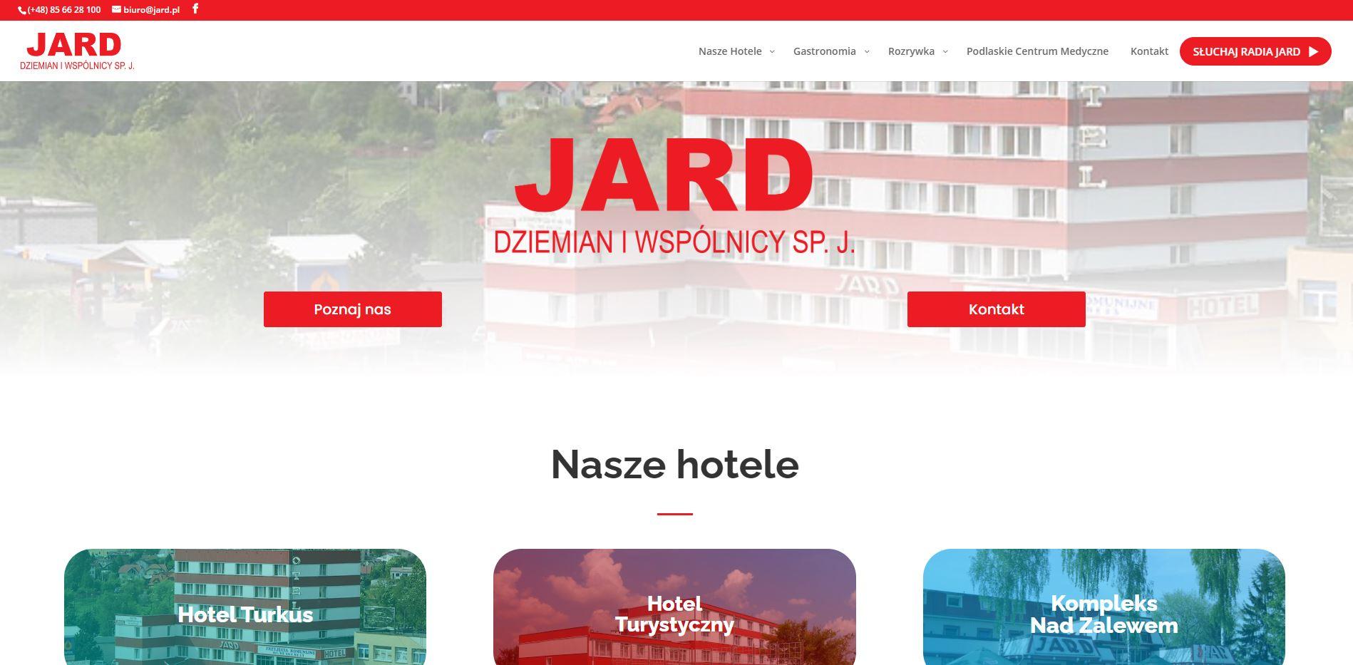 Sieć hoteli i radio jard
