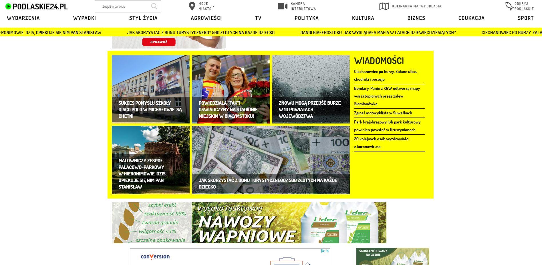 Portal informacyjny Podlaskie24